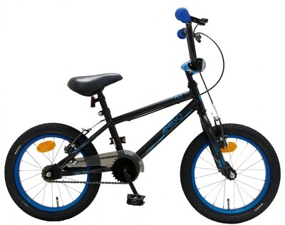 BMX Fahrrad / Velo AMIGO Fly 16 Zoll 25,4 cm Junior V-Brake Schwarz