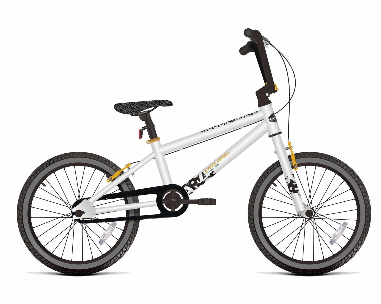 BMX Fahrrad / Velo Volare Cool Rider 16 Zoll 25,4 cm Jungen V-Bremse weiss