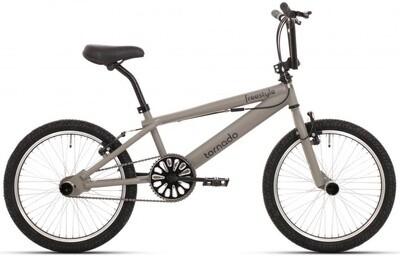 BMX Fahrrad / Velo Tornado Freestyle 20 Zoll 21,5 cm Unisex V-Brake grau
