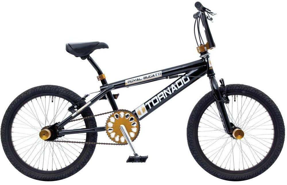 BMX Fahrrad / Velo Bike Bike Fun Tornado 20 Zoll Unisex V-Brake Schwarz