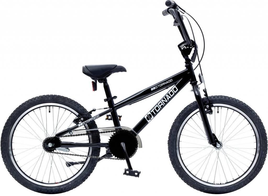 BMX Fahrrad / Velo Bike Fun Cross Tornado 20 Zoll Junior Rücktrittbremse schwarz
