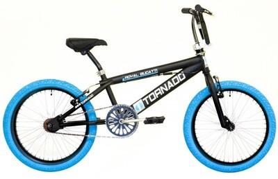 BMX Fahrrad / Velo Bike Fun Tornado 20 Zoll 31 cm Unisex V-Brake schwarz-blau