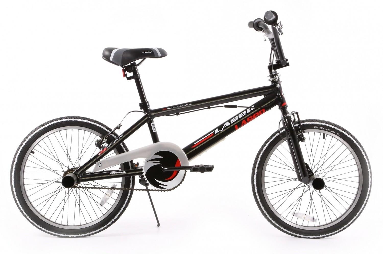 BMX Fahrrad / Velo Popal Laser 20 Zoll 31 cm Unisex V-Brake Schwarz