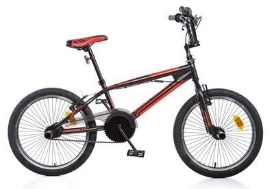 BMX Fahrrad / Velo Dino 346 20 Zoll 49 cm Jungen Felgenbremse Schwarz