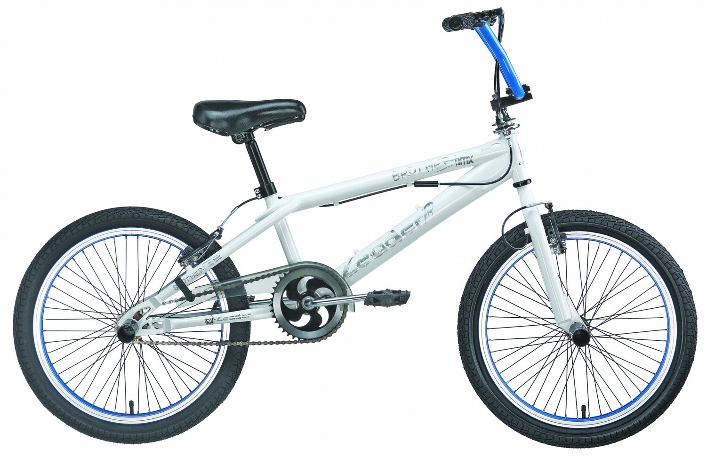 BMX Fahrrad / Velo Leader Brother-G 20 Zoll 31 cm Unisex V-Brake Weiss