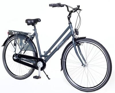 Damen City Fahrrad / Velo AMIGO Bright 28 Zoll 53 cm 3G Rücktrittbremse Mattgrau