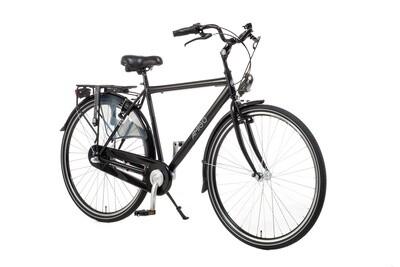 Herren City Fahrrad / Velo AMIGO Bright 28 Zoll 56 cm 3G Rücktrittbremse Mattschwarz