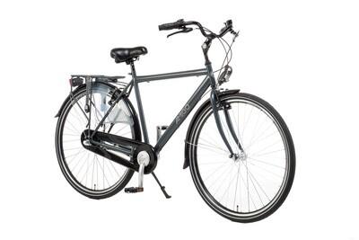 Herren City Fahrrad / Velo AMIGO Bright 28 Zoll 56 cm 3G Rücktrittbremse Mattgrau
