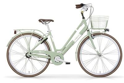 Damen City Fahrrad / Velo MBM Touch 28 Zoll 3G V-Bremse Grün