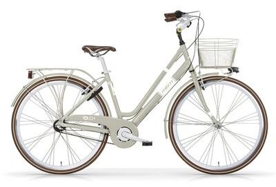 Damen City Fahrrad / Velo MBM Touch 28 Zoll 3G Felgenbremse Grau