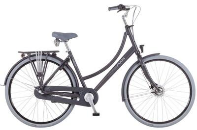 Damen City Fahrrad / Velo Puch Hands-Up! S 28 Zoll 3G Rücktrittbremse Mattschwarz
