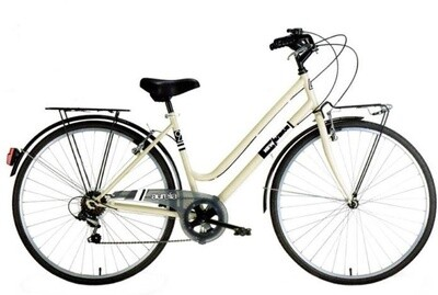 Damen City Fahrrad / Velo Aurelia Donna 28 Zoll 6G Felgenbremse Beige