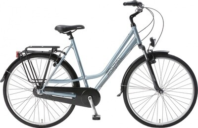 Damen City Fahrrad / Velo Popal CityFlex 28 Zoll 3G Felgenbremse Blau