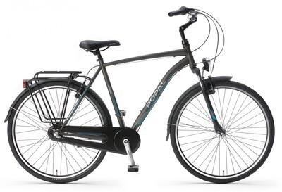 Herren City Fahrrad / Velo Popal CityFlex 28 Zoll 3G Felgenbremse grau