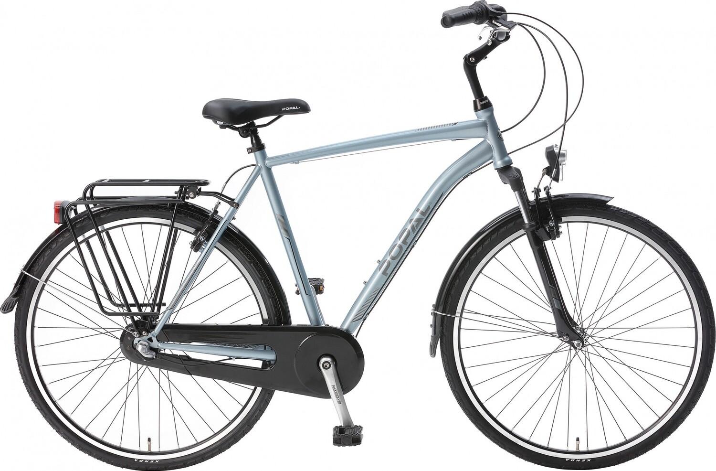 Herren City Fahrrad / Velo Popal CityFlex 28 Zoll 3G Felgenbremse blau