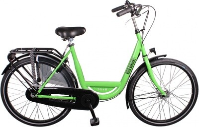 Damen City Fahrrad / Velo Burgers ID Personal 26 Zoll 7G Rollerbrakes grün