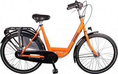 Damen City Fahrrad / Velo Burgers ID Personal 26 Zoll 3G Rollerbrakes Orange
