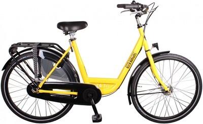 Damen City Fahrrad / Velo Burgers ID Personal 26 Zoll 3G Rollerbrakes gelb