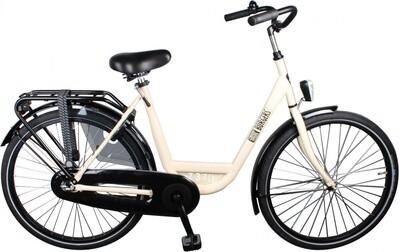 Damen City Fahrrad / Velo Burgers ID Personal 26 Zoll 3G Rücktrittbremse creme