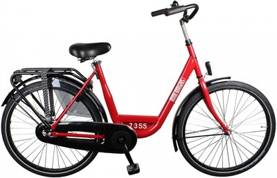 Damen City Fahrrad / Velo Burgers ID Personal 26 Zoll 3G Rücktrittbremse Rot