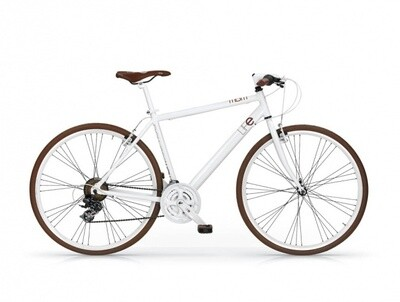 Herren Cross-Fahrrad / Velo MBM Life 28 Zoll 21G Felgenbremse Weiss