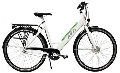 Damen E-Bike / Velo AMIGO E-Line 28 Zoll 53 cm 3G Felgenbremse Weiss