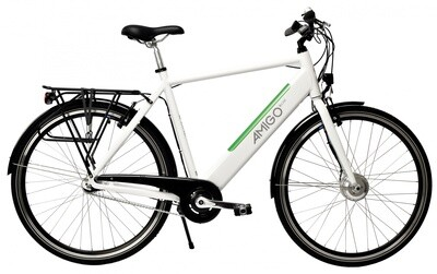 Herren E-Bike / Velo AMIGO E-Line 28 Zoll 58 cm 3G Felgenbremse Weiss