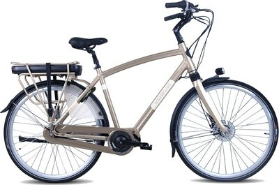Herren E-Bike / Velo Vogue Infinity MDS 28 Zoll 8G Rollerbrakes Mattgrau