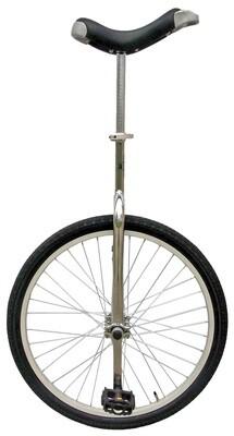 Fun Einrad 24 Zoll 53 cm Unisex Silber