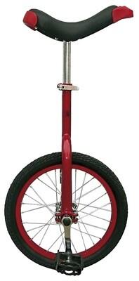 Fun Einrad 16 Zoll 43 cm Unisex Rot