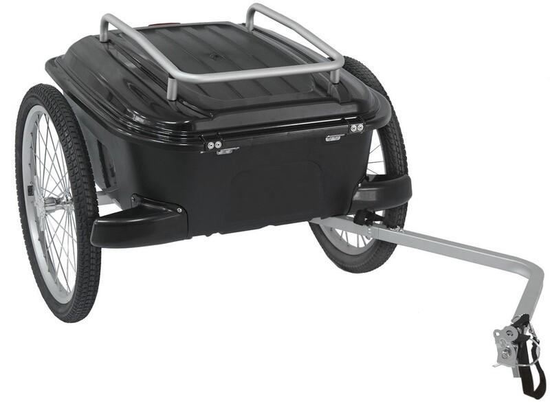 Velo-Anhänger / Fahrradanhänger M-Wave Carry All 20 Zoll Unisex Schwarz