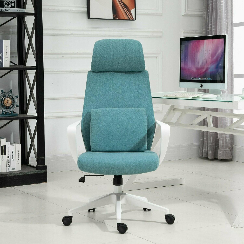 Vinsetto® Massagestuhl Bürostuhl Chefsessel mit Massagefunktion höhenverstellbar Blau