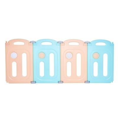 Baby Vivo Zusatzpaket für Laufgitter aus Kunststoff 4 Elemente Kory