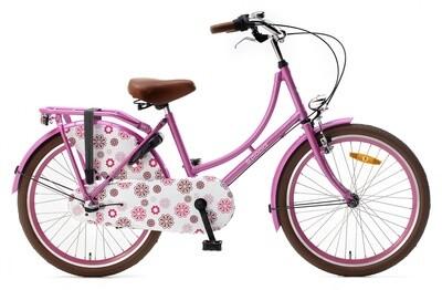 Hollandrad Fahrrad Velo Popal 22 Zoll Mädchen 3G Rücktrittbremse Rosa