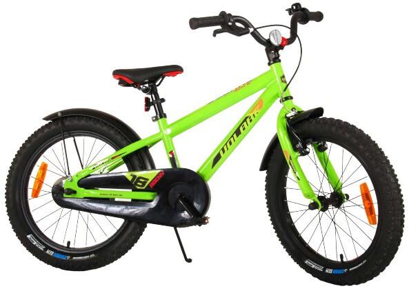 Fahrrad Velo Mountainbike Volare Rocky 18 Zoll 28 cm Jungen Rücktrittbremse Grün/Schwarz