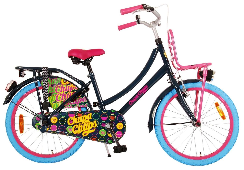 Kinder-Fahrrad Velo Volare Chupa Chups 20 Zoll 31,75 cm Mädchen Rücktrittbremse Schwarz
