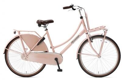 Kinder-Fahrrad Velo Hollandrad Popal Daily Dutch Basic 26 Zoll 46 cm Mädchen Rücktrittbremse Lachsfarben