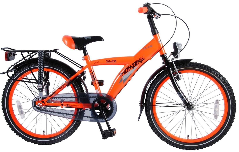Kinder-Fahrrad Velo Volare Thombike 20 Zoll 31,75 cm Jungen 3G Felgenbremse Orange