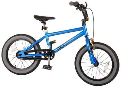 Kinder-Fahrrad Velo Freestyle / BMX Volare Cool Rider 16 Zoll 25,4 cm Jungen Rücktrittbremse Blau