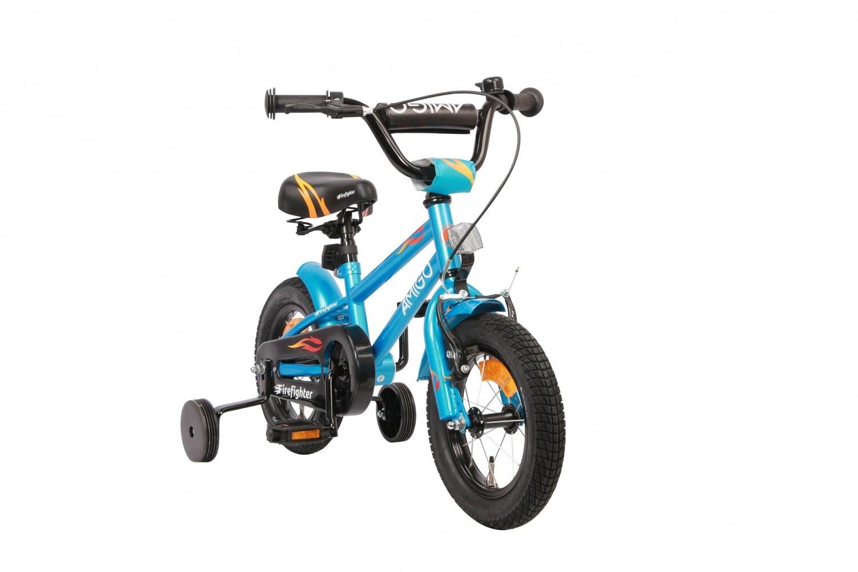 Kinder-Fahrrad Velo AMIGO Booster 12 Zoll 20 cm Jungen Rücktrittbremse Grün
