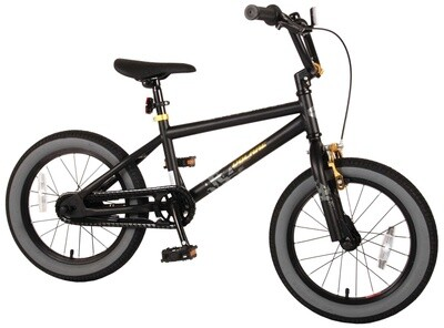 Kinder-Fahrrad Velo Volare BMX / Freestyle Cool Rider 16 Zoll 25,4 cm Jungen Rücktrittbremse Schwarz