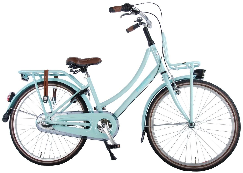 Kinder-Fahrrad Velo Volare Excellent 24 Zoll Mädchen 3G Rücktrittbremse Türkis