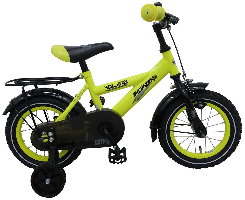 Kinder-Fahrrad Velo Volare Thombike 12 Zoll 21,5 cm Jungen Rücktrittbremse Gelb