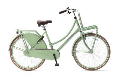 Kinder-Fahrrad Velo Hollandrad Popal Daily Dutch Basic 26 Zoll 46 cm Mädchen Rücktrittbremse Grün