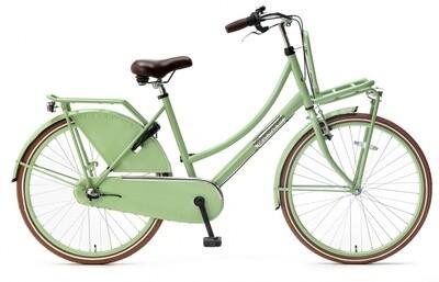 Kinder-Fahrrad Velo Hollandrad Popal Daily Dutch Basic+ 26 Zoll 46 cm Mädchen 3G Rücktrittbremse Grün