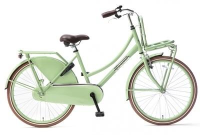 Kinder-Fahrrad Velo Hollandrad Popal Daily Dutch Basic 24 Zoll 42 cm Mädchen Rücktrittbremse Grün