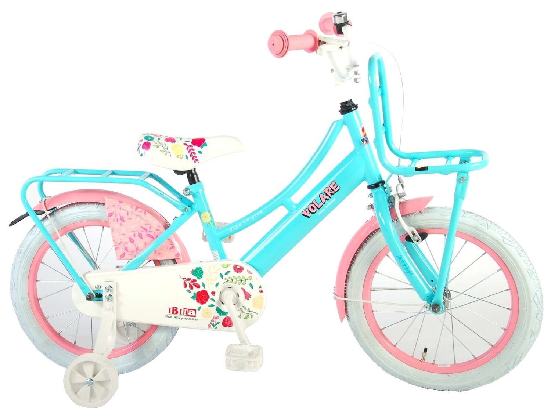Kinder-Fahrrad Velo Volare Ibiza 16 Zoll 25,4 cm Mädchen Rücktrittbremse Grün