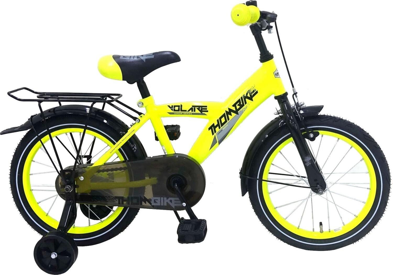Kinder-Fahrrad Velo Volare Thombike 16 Zoll 25,4 cm Jungen Rücktrittbremse Gelb