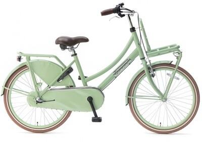 Kinder-Fahrrad Velo Hollandrad Popal Daily Dutch Basic+ 22 Zoll 36 cm Mädchen 3G Rücktrittbremse Grün