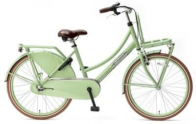 Kinder-Fahrrad Velo Hollandrad Popal Daily Dutch Basic+ 24 Zoll 42 cm Mädchen 3G Rücktrittbremse Grün